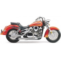 Tailpipe RETRO COBRA SLASHCUTS VTX1300 03-09