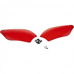 "Wind deflectors FIBRE WINDSHIELD MEMPHIS ""RUBY"""