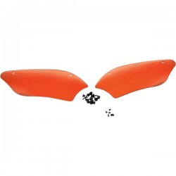 "Wind deflectors FIBRE WINDSHIELD MEMPHIS ""ORANGE"""