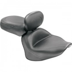 MUSTANG SEAT WITH BACKUP KAWASAKI VN900 CUSTOM AND CLASSIC 06-13