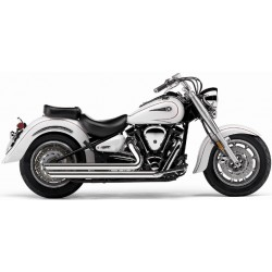 EXHAUST XVS1100 YAMAHA V-STAR COBRA SPEEDSTER SLASHDOWNS 99-09