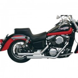 KAWASAKI VULCAN VN800 EXHAUST MAC SLASH-CUT STAGGERED 95-03