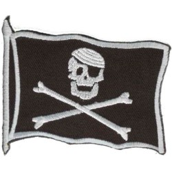 PARCHE FLAG PIRATE