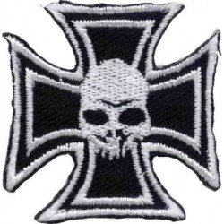 Maltesse SKULL PATCH