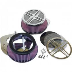XXX BAK AIR FILTER CHROME HONDA VTX 1300 10-12 FURY