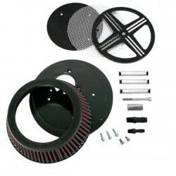 AIR FILTER XXX BAK BLACK HONDA VTX 1800 02-08