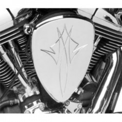 PINSTRIPE CHROME AIR FILTER YAMAHA XV 1600 99-07