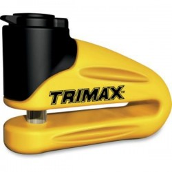 TRIMAX DISK LOCK 10MM YELLOW